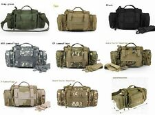 8 Colors Swat Molle Tactical Utility Waist Hand Shoulder Bag WARGAME Camping