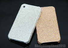 Handmade Super Bling Swarovski Element Crystal Cover Case For iPhone 5 5S 4S 4