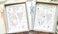 Personalised Christening Baptism Naming Day Card Speical Boxed Keepsake Boy Girl