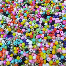 1000 pcs 2mm Czech Glass Seed Spacer beads Jewelry Making Mixed Or 34Color-1 Z19
