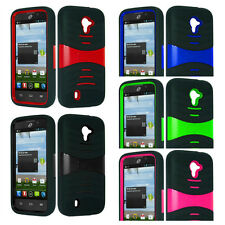 Grenade Shell Hybrid Gel Cell Phone Case for ZTE Majesty/Source