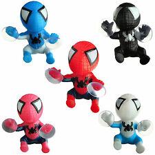 Auto Car Decal Sticker Spider Man Doll Interior Sucker Accessory Window Decor