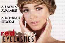 RED CHERRY STRIP LASHES 100% HUMAN HAIR ALL STYLES FREE UK P&P EYELASHES