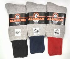 Alaskan Heavy Thermal Socks Winter Work Outdoors Crew Boot Wool Cold Weather