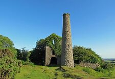 Bodmin Moor Tor Mine Cornwall England - Photo Prints A4 A3 or CANVAS