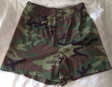 New ROTHCO MADE IN USA Boxer Brief shorts ARMY Woodland Camo Underwear GI PT FLY