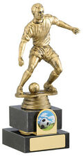 Antique Gold Male Football Figure Award - Free Engraving