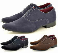 Mens Leather Lined Pointed Toe Winkle Pickers Formal Office  Shoes UK Size 6-11