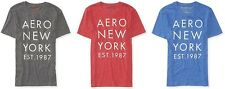 Aeropostale Mens Aero Logo New York Graphic T Shirt Tee S,M,L,XL,2XL,3XL NEW NWT