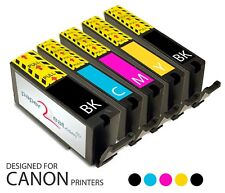 PGI-225 / CLI-226 Refillable Edible Ink Cartridges for Canon iP4820 MADE IN USA