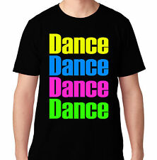 DANCE DANCE BASS EDM MUSIC HOUSE ELECTRO DUBSTEP MUSIC DJ RAVE COACHELLA T SHIRT