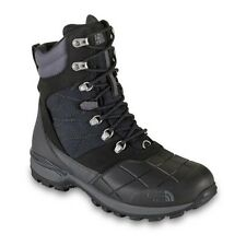 THE NORTH FACE SNOWSQUALL MENS LACE BOOT WINTER EXTREME WARM ICE GRIP BLACK