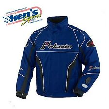 POLARIS Men's Blue RETRO RIPPER Winter Snowmobile Jacket 2863052_