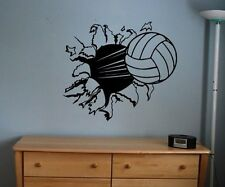 Sticker Decal Kids Room Decor Sports Football Large Bedroom Wall Diy