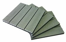Composite Decking Tiles - Pack of 11 [Size 300 x 300mm] = 1 sq metre.
