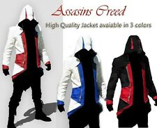 Assassins Creed 3 III Conner Kenway Jacket Cosplay Costume Hoodie/Coat all sizes