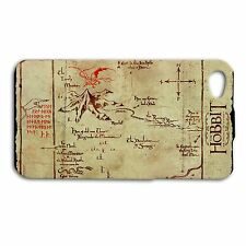 The Hobbit Lonely Mountain Map Case iPhone 4 iPhone 4s iPhone 5c iPhone 5s Cover
