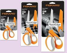 FISKARS premium fabric RazorEdge™ Softgrip® SCISSORS CHOICE OF 3 SIZES