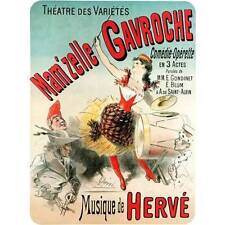 NEW! Vintage Mam'zelle Gavroche Theatre Varietes French Ad Poster Decor Wall Art