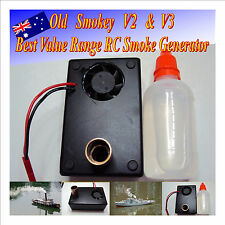 RC  Smoke Generator Boat Trucks Tanks Drift Cars 6-12 V with Fluid
