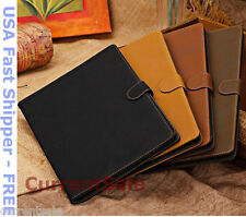 Vintage Book Magnetic SMART Cover Ultra Slim Leather Folio iPad AIR 1 2 Case 5 6