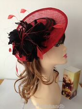 NEW Kentucky Derby Church Easter Ascot Sinamay Dress Hat/Fascinator, 4 colors