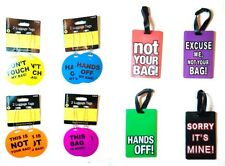 Novelty Luggage Baggage Tags Air Travel Holidays Cruise Coach Trip Luggage Tags