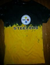 PITTSBURGH STEELERS WOMENS JUNIORS  PETITE Tie Dye  T-Shirt NFL Licensed AWESOME