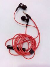 Philips SHE2300 High Quality Audio Bass in-ear Headphone with Microphone-red