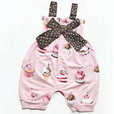 New Girls Baby Nappy Cover Clothes Ruffle Summer Bloomers Size0-18M Romper Pants