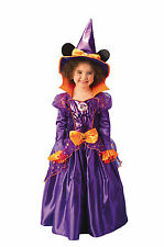 MINNIE MOUSE Kids' Wiz Witch Fancy Dress Carnival Hat Theme Party Costume New
