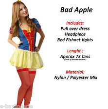 Deluxe Snow White Costume Romantic night Christmas Party Fancy Dress Halloween