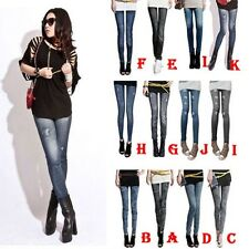 Slim Fit Denim Feet Pants Trouser Women Lady Sexy Skinny Jeans Leggings