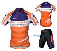 NEW Cycling Bicycle BIKE Comfortable outdoor Jersey + Shorts size S- XXXL