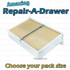 MEDIPAQ™ Fix A Drawer - Easily Repair Mend Broken Buckled Sagging Draw Bottom