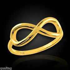 Gold Infinity Ring (Made in USA)