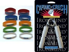 Ironmind Captains of Crush CoC Gripper PICK 1 MODEL + Expand Your Hand Bands NEW