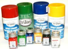 Testors Enamel Paints, 3 oz. spray or 1/4 oz. bottle, Many Colors available