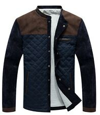 2014 Spring autumn men's stitching thin section jackets coats outerwear