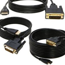 For HDTV 1.5FT 3FT 10FT 15FT 25FT 50FT 24+1 DVI-D Male to Male HDMI Cable Lot