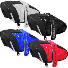 VeloChampion Slick Bike Seat Pack - 4 Colours - Bicycle Cycle Saddle Bag Topeak
