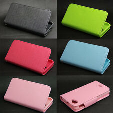 Button Deluxe Wallet Leather Flip + Tpu Case For Sony Ericsson Xperia J ST26i