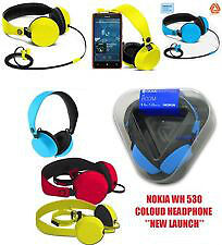 ORIGINAL UNIVERSAL NOKIA WH530 WH-530 COLOUD HEADPHONE THE BOOM BILL & WARRANTY
