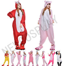 Hot Unisex Adult Onesie Kigurumi Pajamas Anime Cosplay Costume Dress Sleepwear