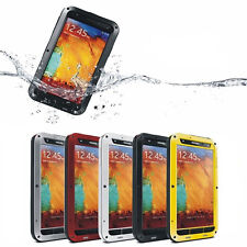 Waterproof Aluminum Gorilla Metal Cover Case for Samsung Galaxy S3 S4 Note 3