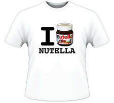 I Love Nutella T Shirt