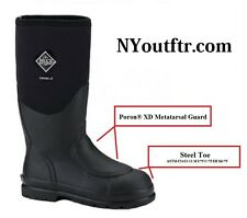 CHS-MET Muck Boot Chore Boot Steel Toe w/ Metatarsal Guard FREE SHIPPING