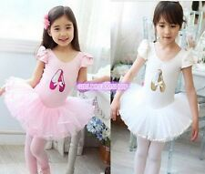 Girl Ballet Dance Fairy Costume Tutu Girl Dress SZ 3-8Y