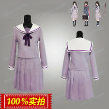 Hot New Hiyori Iki Noragami Cosplay Costume Full Set