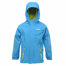 Regatta Skyjack Kids Jacket Girls Boys Age 3 - 15 yrs Waterproof & Breathable